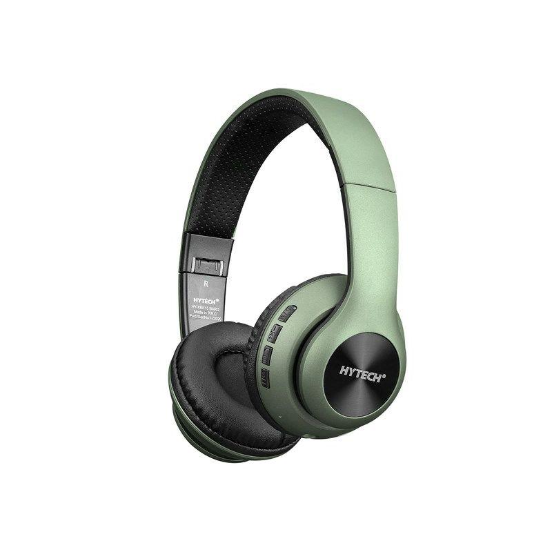 Slušalice HYTECH HY-XBK15 BARD, mikrofon, Bluetooth, zelene