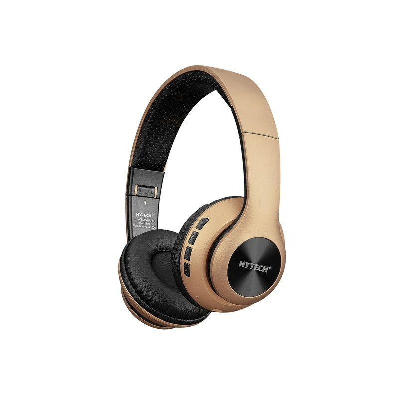 Slušalice HYTECH HY-XBK15 BARD, mikrofon, Bluetooth, zlatne