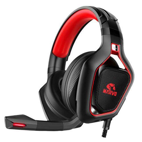 Slušalice MARVO PRO HG8960 PRO, mikrofon, LED, PC/PS4/Xbox One, crne
