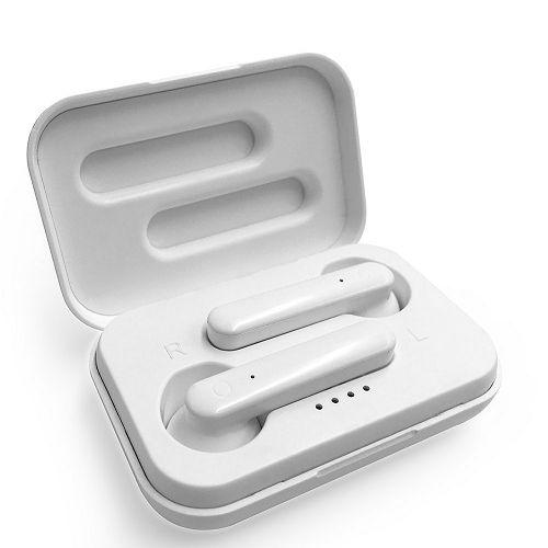 Slušalice MEDIA-TECH MT3601W, mikrofon, Bluetooth,TWS, bijele