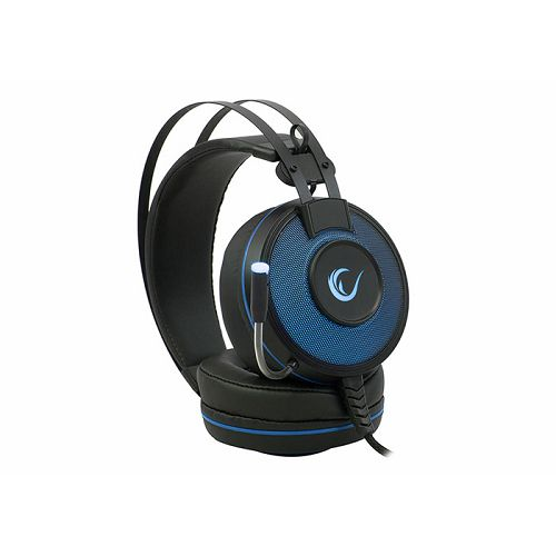 Slušalice RAMPAGE Alpha-X, mikrofon, LED, 7.1 Surround Sound, PC/PS4, plave