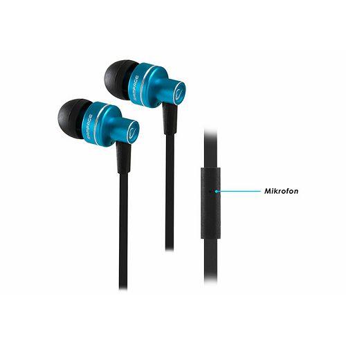 Slušalice RAMPAGE Phoenix, mikrofon, crno - plave