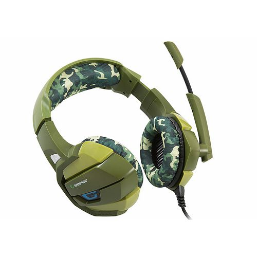 Slušalice RAMPAGE RM-K5, mikrofon, 7.1 Surround Sound, maskirne