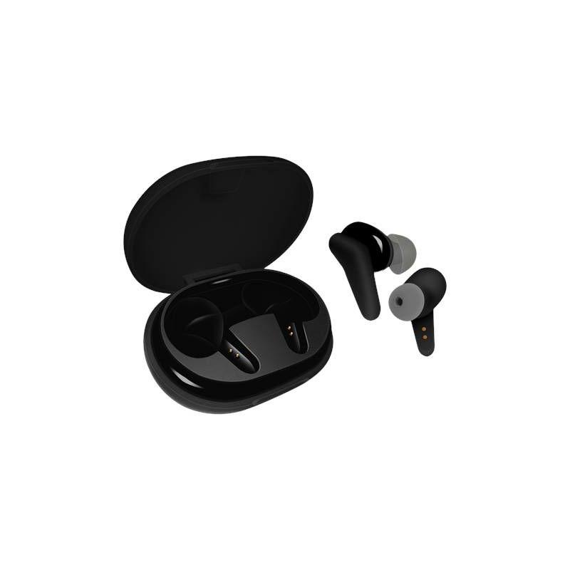 Slušalice STREETZ TWS-113, mikrofon, Bluetooth 5.0, TWS, crne
