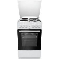 Štednjak Gorenje K5111WG, 50 cm, kombinirani, bijeli