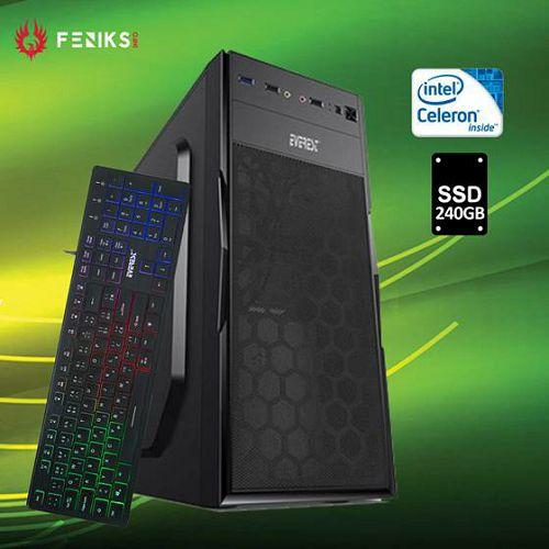 Stolno računalo Hyper X 1078 Intel Celeron G4930/8GB DDR4/SSD 240GB/Tipkovnica KB-840