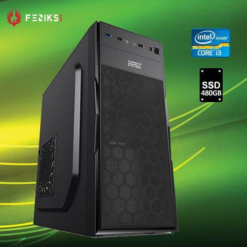 Stolno računalo Hyper X 1107  Intel i3-10100/8GB DDR4/SSD 480GB