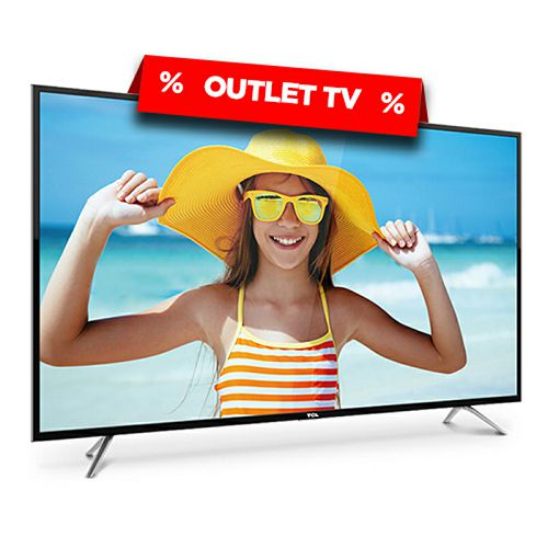 "TCL LED TV 43"" U43P6006, UHD, Smart TV (outlet uređaj)"