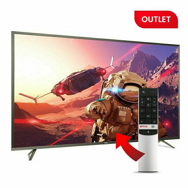 """TCL LED TV 55"""" U55P6046, UHD, Android TV (outlet uređaj) + glasovni daljinski TCL ARC602S"""