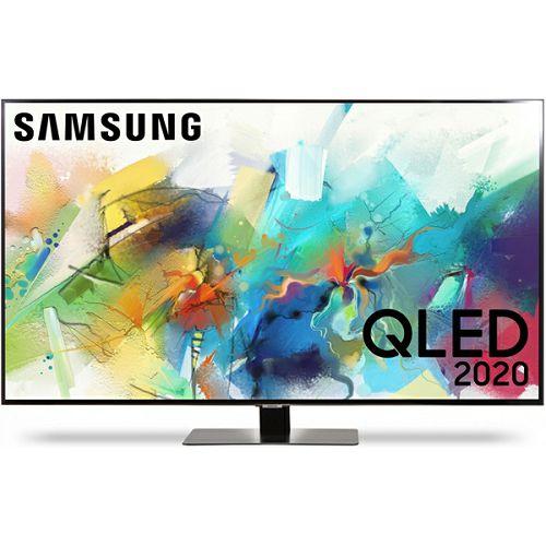 """Televizor Samsung 50"""" QE50Q80TATXXH, QLED, 4K Ultra HD, DVB-T2/C/S2 HEVC/H.265, HDR 10+, Smart TV"""