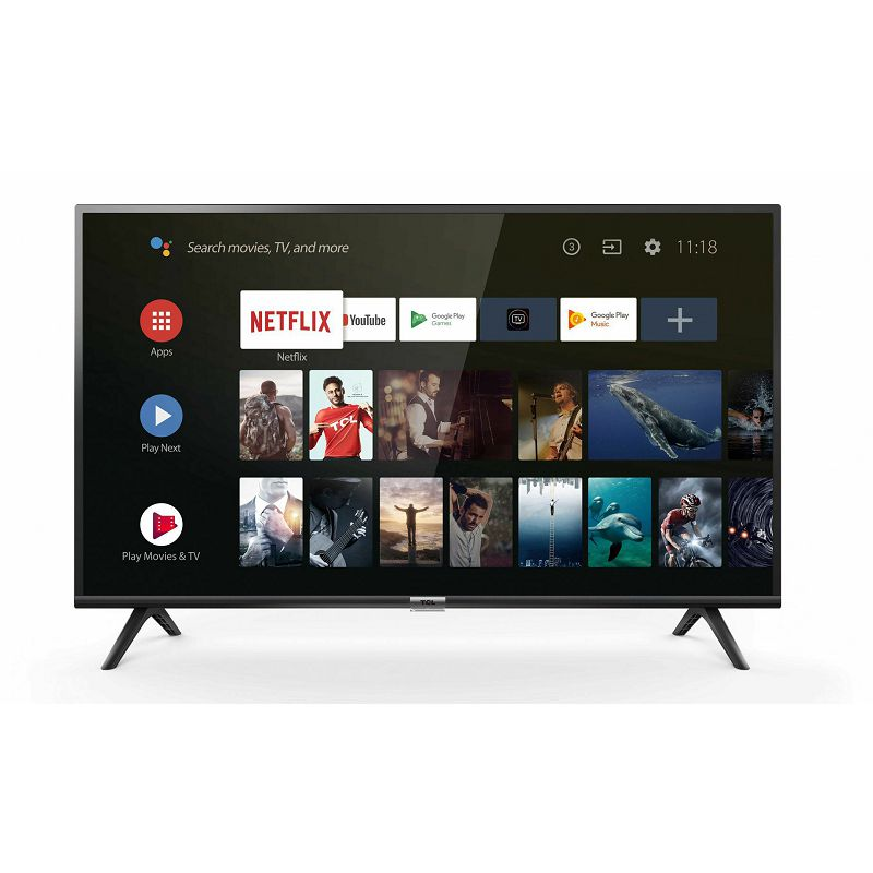 "Televizor TCL 40"" 40ES560, Full HD, DVB-T2/C/S2 HEVC/H.265, AndroidTV"