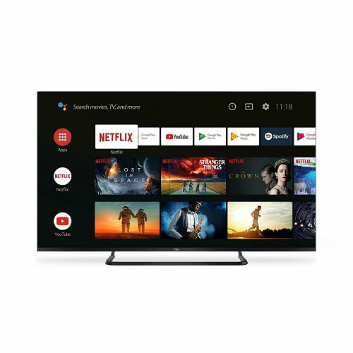 "Televizor TCL 50"" 50EP680, 4K Ultra HD, DVB-T2/C/S2 HEVC/H.265, HDR, WCG, Dolby Atmos, Intelligent RC, AndroidTV"