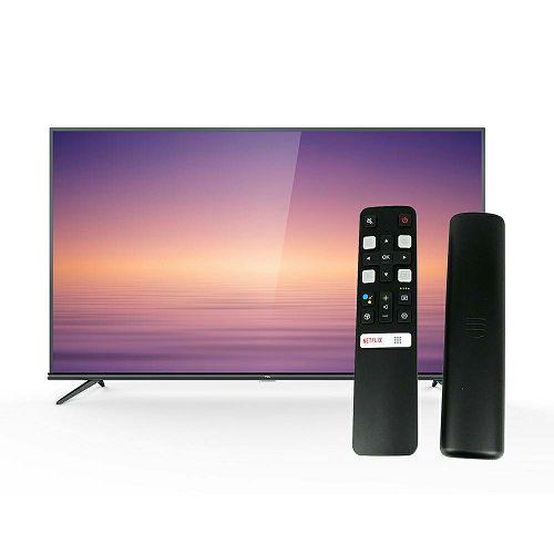 """Televizor TCL 65"""" 65EP660, 4K Ultra HD, DVB-T2/C/S2 HEVC/H.265, HDR, AndroidTV, WiFi, 5Y jamstvo + TCL glasovni daljinski RC802V"""