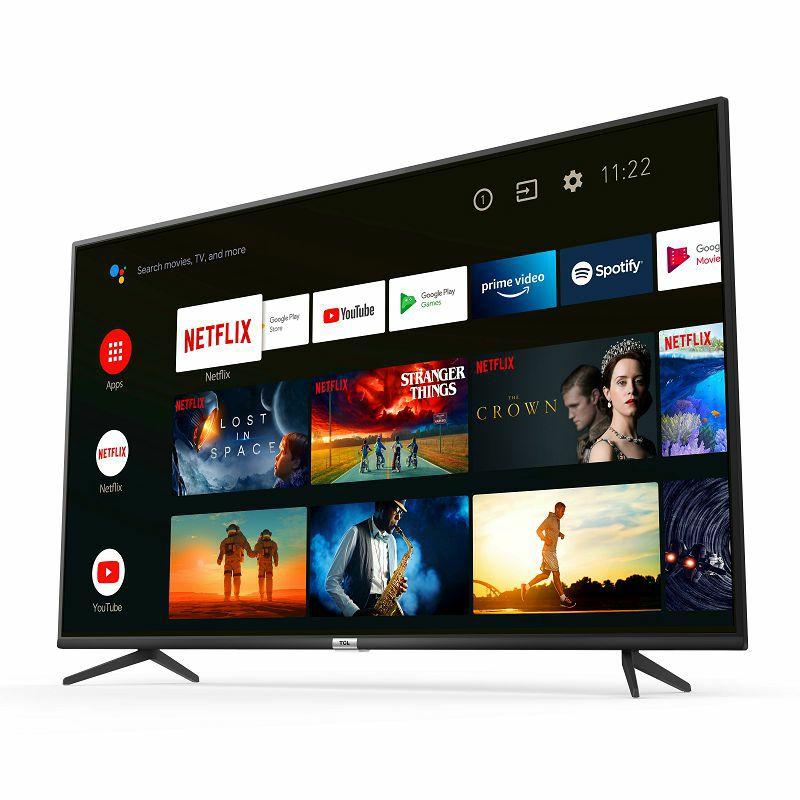 """Televizor TCL 65"""" 65P615, 4K Ultra HD, DVB-T2/C/S2 HEVC/H.265, Android TV"""
