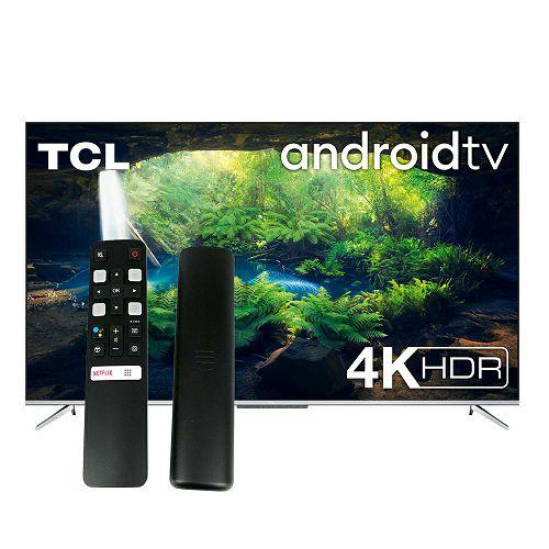 "Televizor TCL 65"" 65P715, 4K Ultra HD, DVB-T2/C/S2 HEVC/H.265, HDR, AndroidTV + TCL glasovni daljinski RC802V"