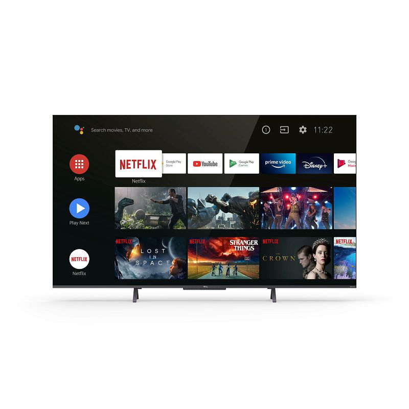 "Televizor TCL LED TV 55"" 55C725, QLED, UHD, Android TV, 4K Ultra HD, DVB-T2/C/S2 HEVC/H.265"