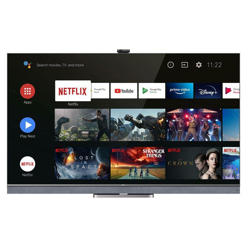 """Televizor TCL LED TV 55"""" 55C825, QLED, Mini LED, UHD, Android TV"""