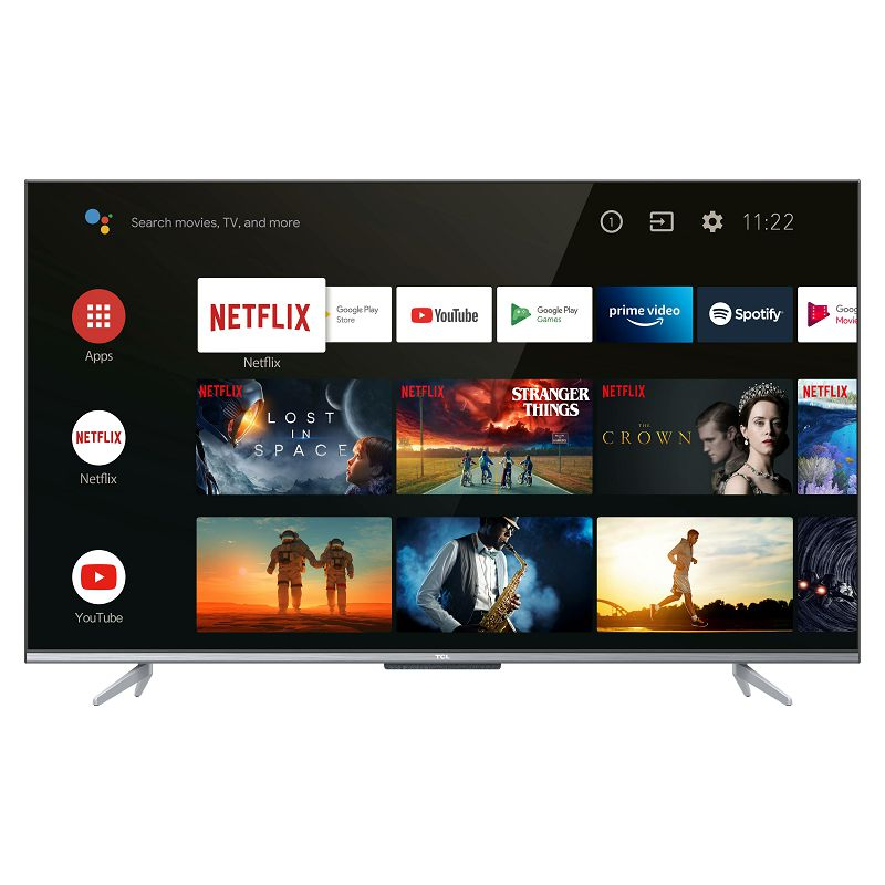 """Televizor TCL LED TV 55"""" 55P725, UHD, 4K Ultra HD, DVB-T2/C/S2 HEVC/H.265, Android TV"""