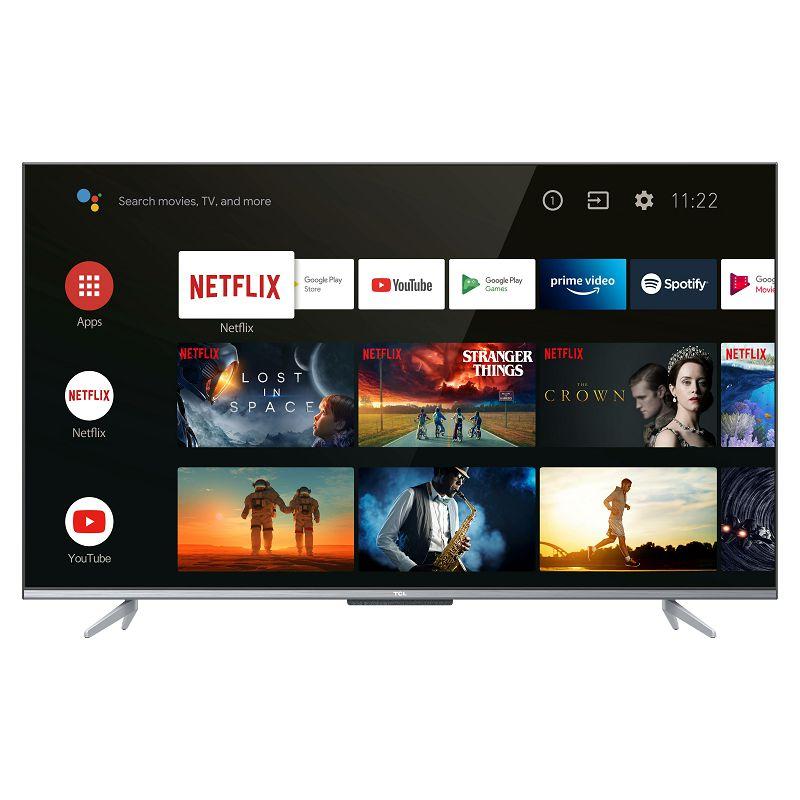 """Televizor TCL LED TV 65"""" 65P725, UHD, Android TV, 4K Ultra HD, DVB-T2/C/S2 HEVC/H.265"""