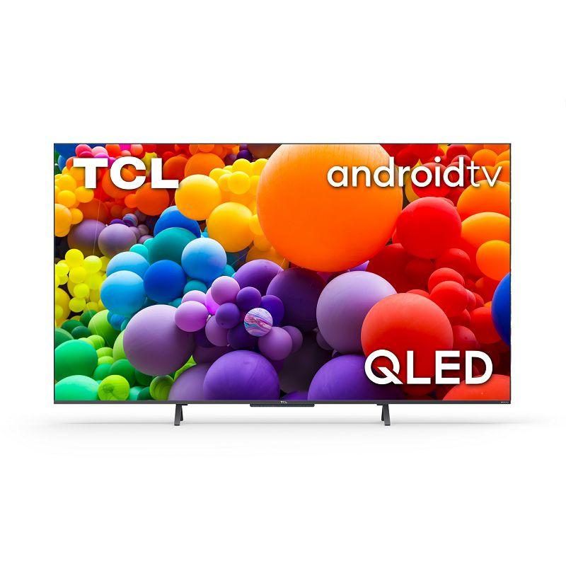 """Televizor TCL QLED TV 50"""" 50C725,4K Ultra HD, DVB-T2/C/S2 HEVC/H.265, Android TV"""