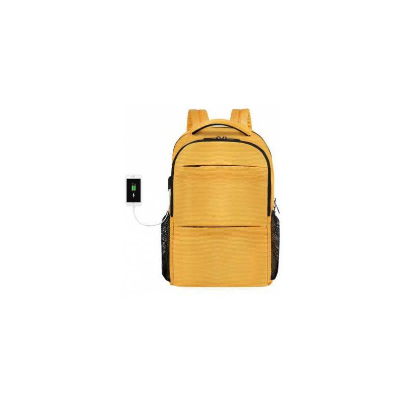 """Ruksak za laptop TIGERNU T-B3032D 15.6"""" žuti"""