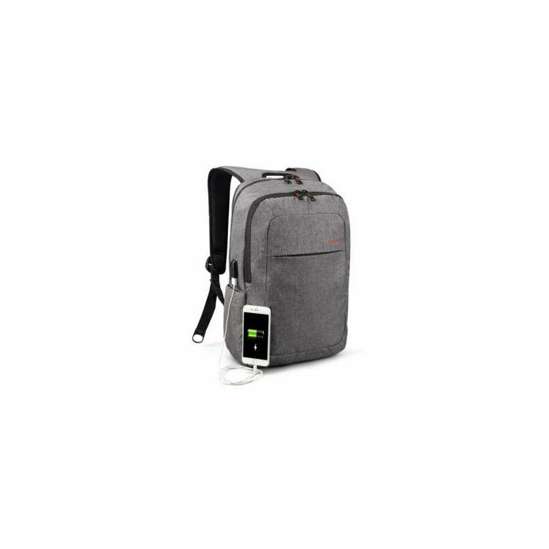 """Ruksak za laptop TIGERNU T-B3090A USB 15.6"""" sivi"""
