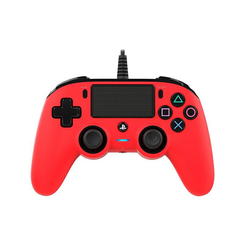 Tipkovnica NACON PS4 žičana, crvena