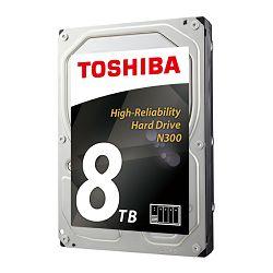 Toshiba N300 8TB, 128MB, 7200rpm, NAS