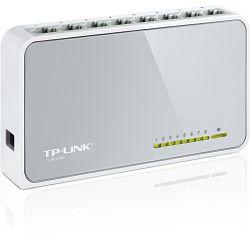 TP-Link TL-SF1008D, 8-port 10/100 switch,plastično