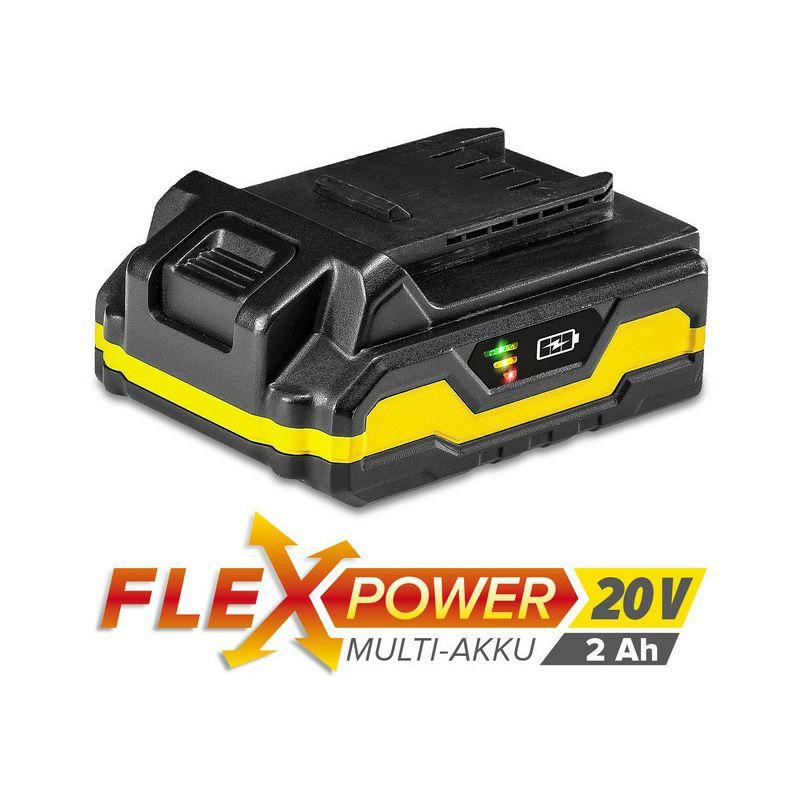 Višenamjenska punjiva baterija Trotec Flexpower, 20 V, 2 Ah