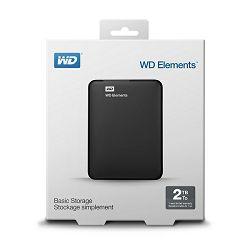 "WD Elements 2TB Portable 2,5"", USB 3.0"