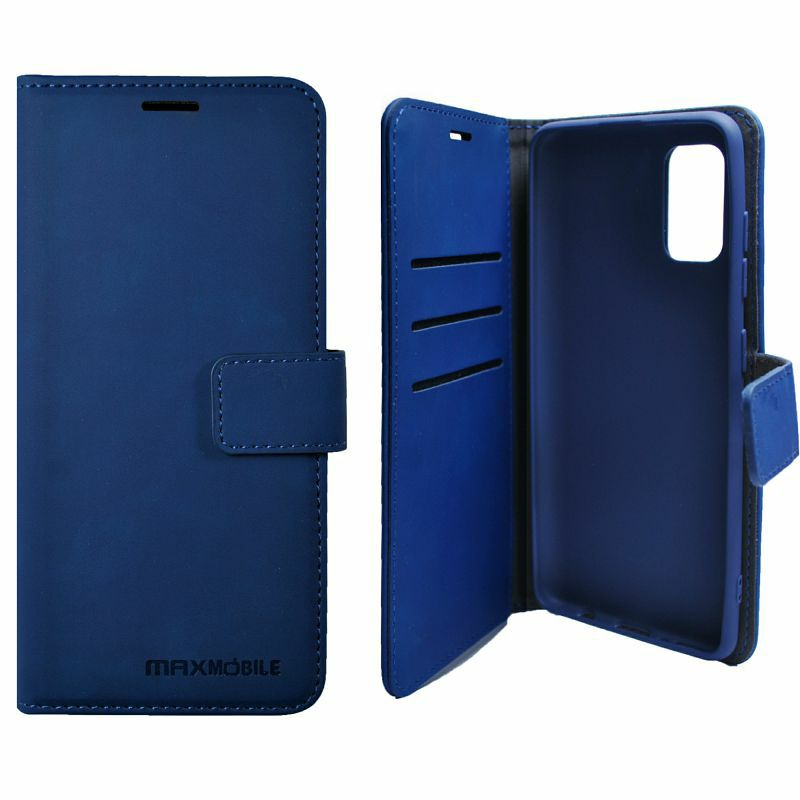 Zaštitna maska za Samsung Galaxy A22 5G elegant wallet plava